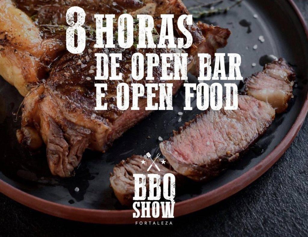 2° edição do BBQ Show oferece uma experiência gastronômica com 8 horas de open bar e churrasco à vontade