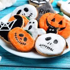 biscoitos halloween