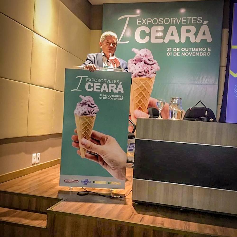 Ceará será mais refrescante nos dias 16 e 17 de Outubro: vem aí a II Exposorvetes Ceará