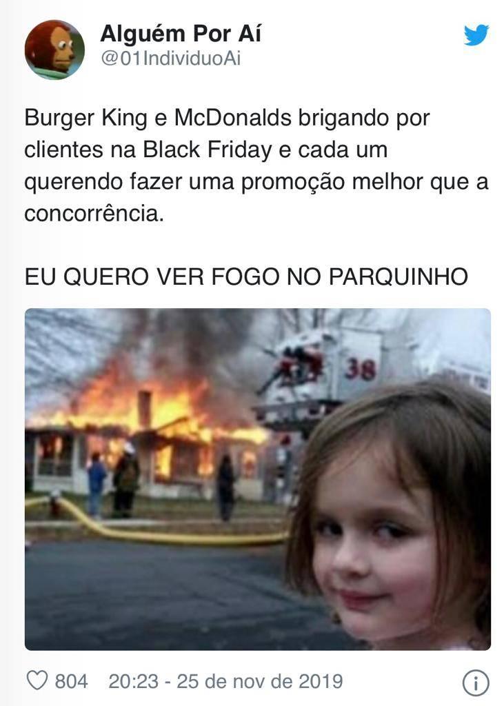 black friday mc e burger king