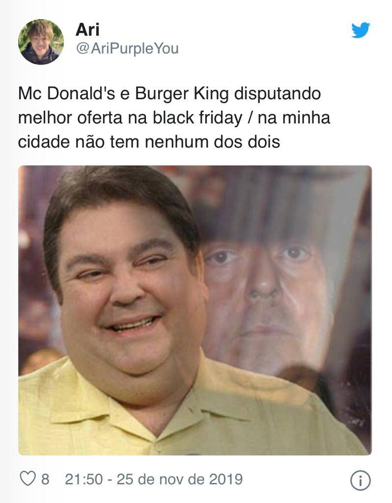 promoções black friday burger king geram memes