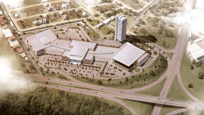 Com orçamento inicial de R$ 190 milhões, a cidade de Eusébio receberá o empreendimento, que terá 70 mil metros quadrados, sendo 30 mil m² da área destinados a lojas, serviços e quiosques