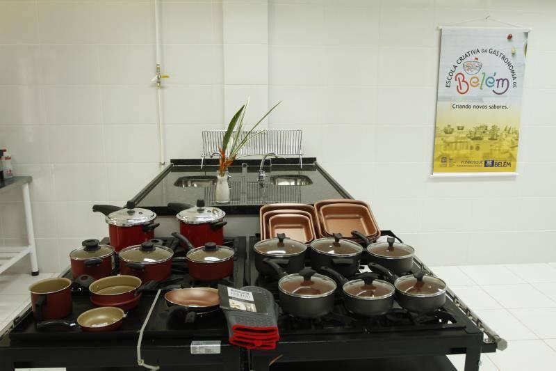 Escola de gastronomia criativa Belém.