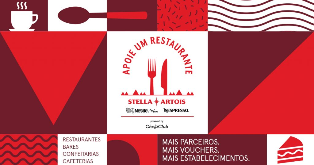 Campanha de Stella Artois ganha presença de Nestlé, Apoie um Restaurante