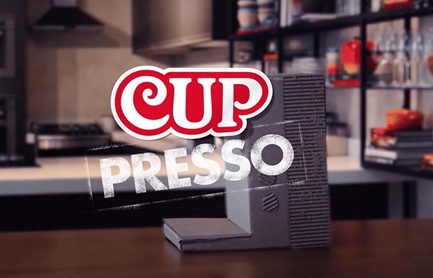 Cup Noodles cria uma nova funcionalidade para as máquinas de café