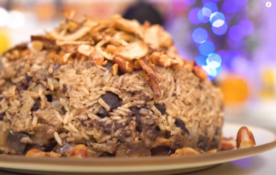 "Receita de Maklub ""arroz árabe"" Pelo Chef Mohamad Hindi"