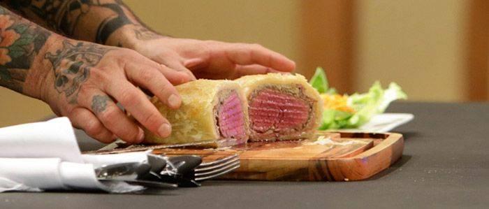 Receita de Bife Wellington do Chef Raul Lemos