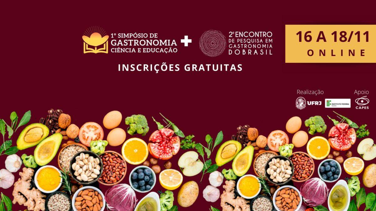 1 Simpósio online de Gastronomia acontece em Novembro