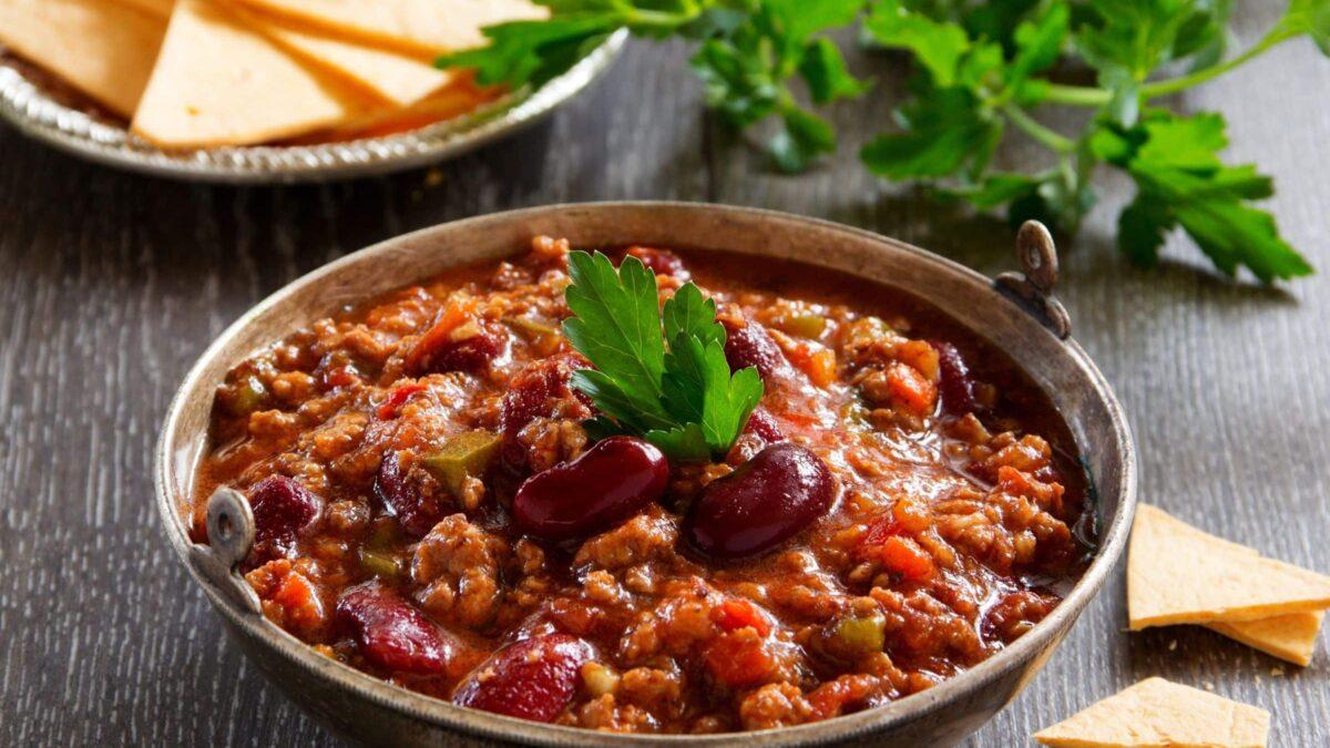 Comida Mexicana: Receita de Chilli com carne