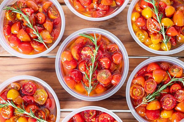 Receita de Tomates confitados