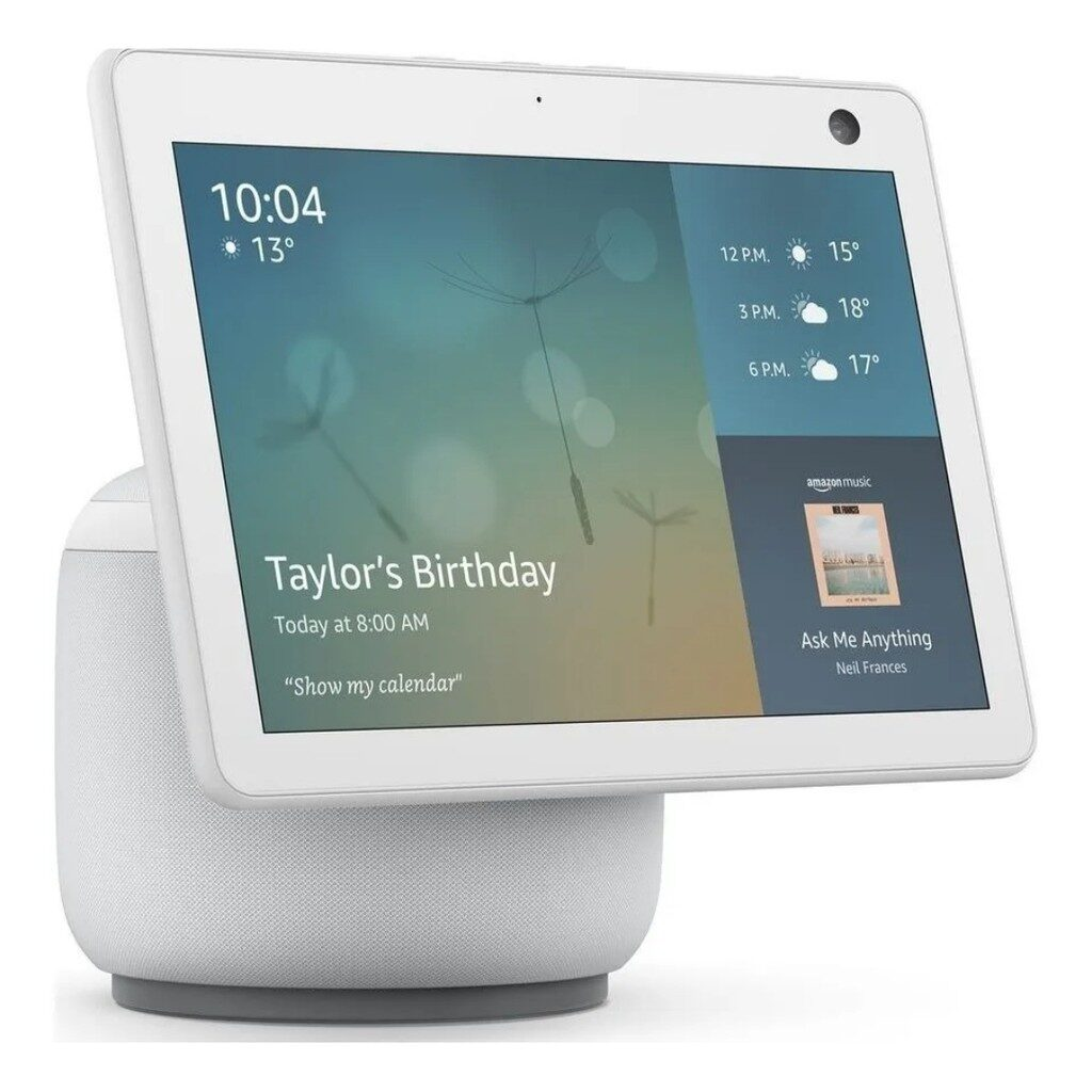 Echo Show 10 Smart Display HD de 101 com movimento e Alexa