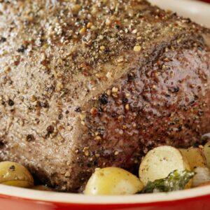 receita de picanha ao forno com alho e ervas